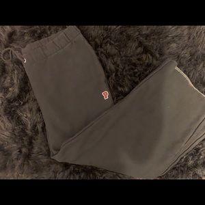 Pink Crop Sweatpants